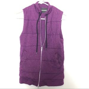 Monrow Vest With Zipper